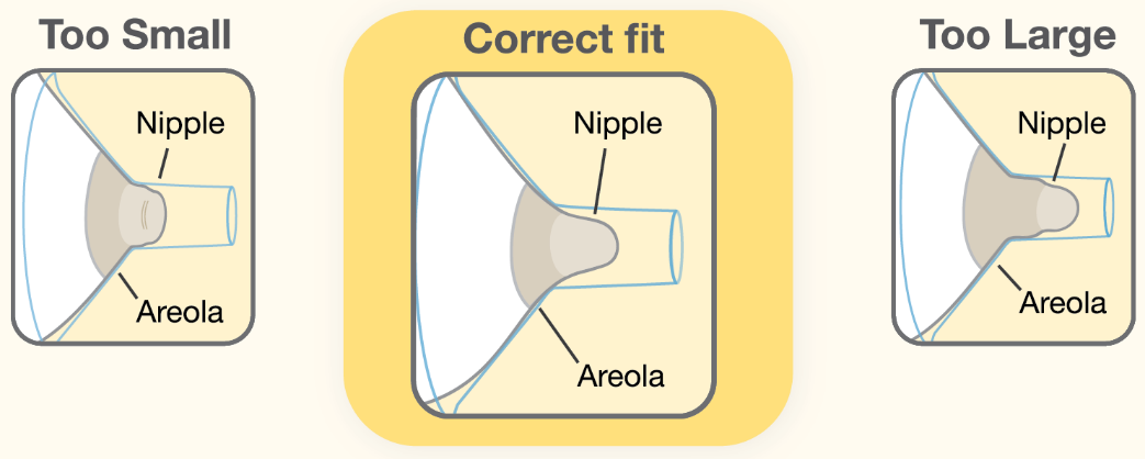 Areola size pictures